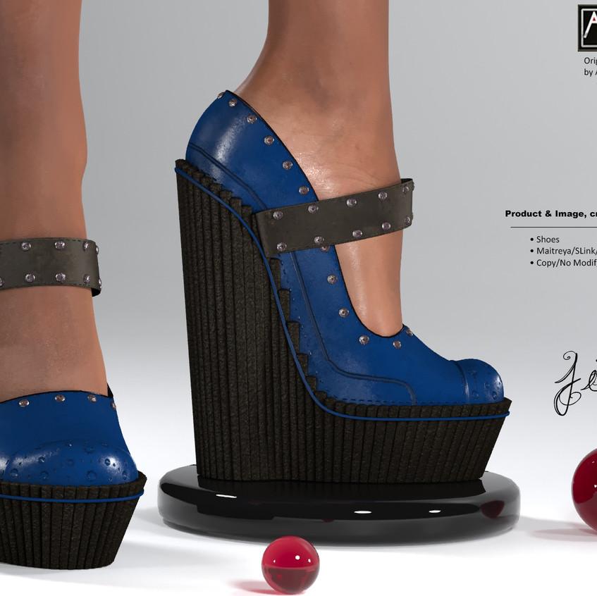 AZOURY - Jim Shoes [Blue]