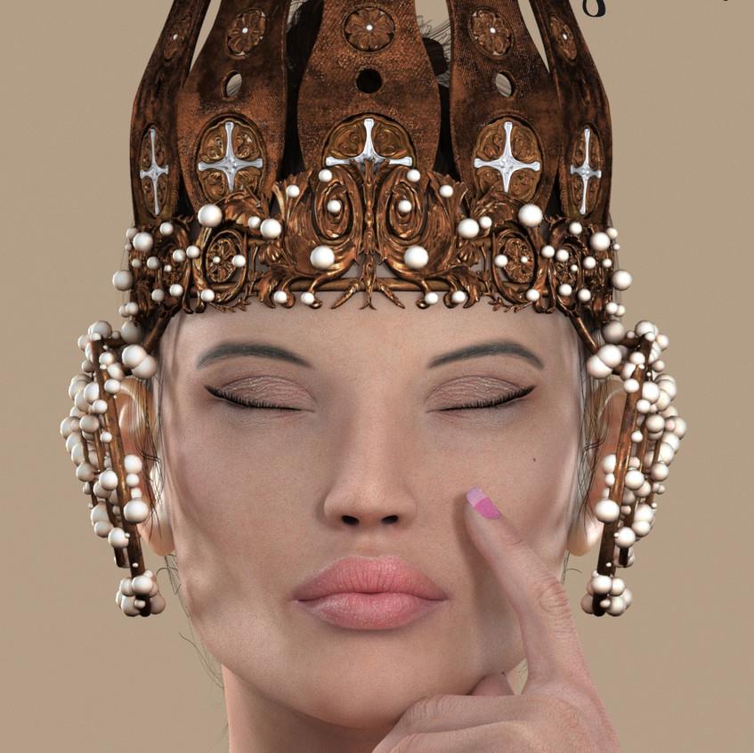 AZOURY - Souverain Crown {Bronze}