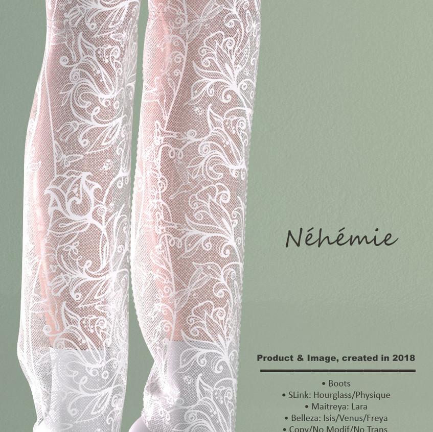 AZOURY - Nehemie Boots White