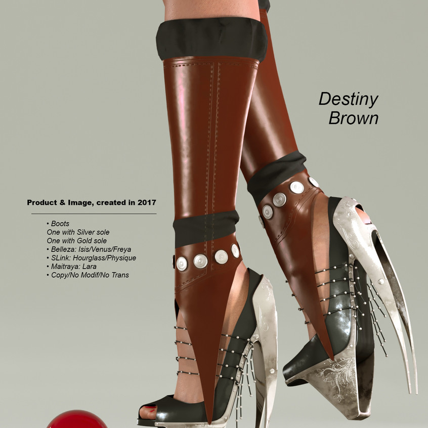 AZOURY - Destiny Boots [Brown]