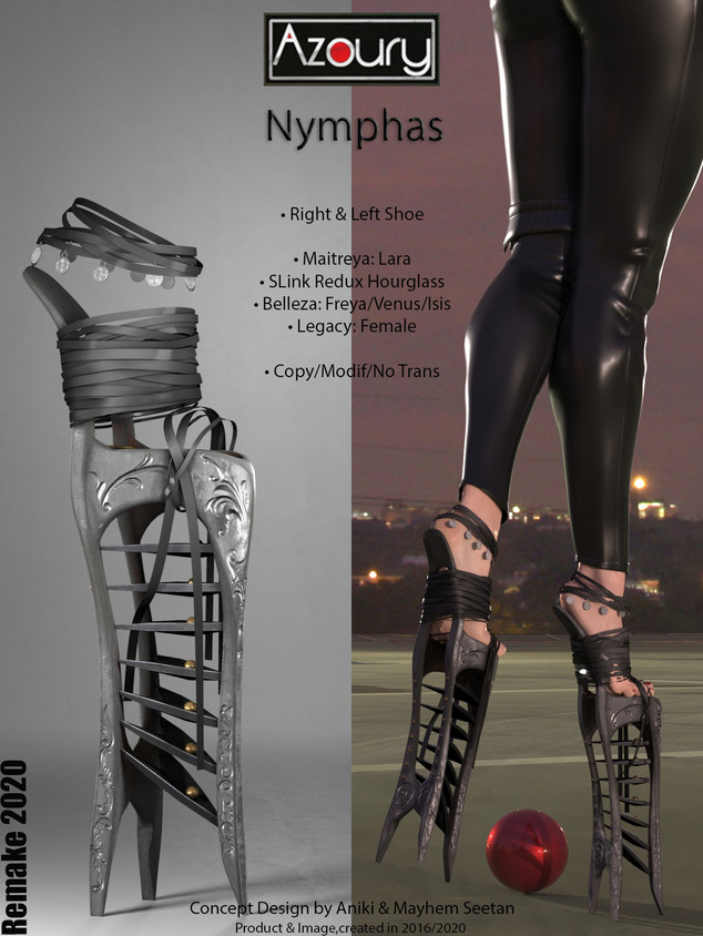 Nymphas [REMAKE 2020]