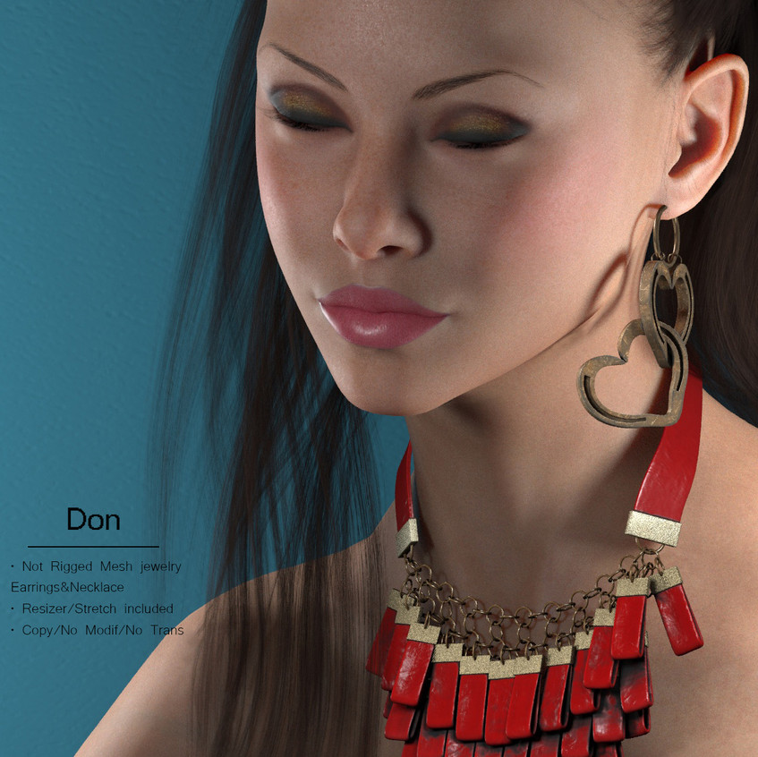 AZOURY - Don Jewelry {Red}