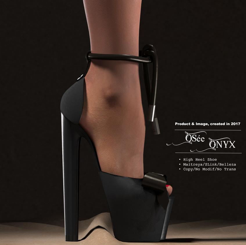 AZOURY_-_Osée_High_Heel_Shoe_[Onyx]