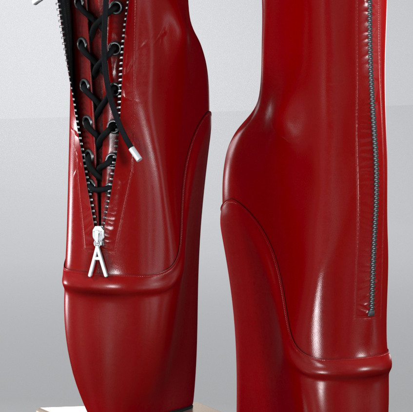 AZOURY - Aguicheuse Ballet Shoe {Red}