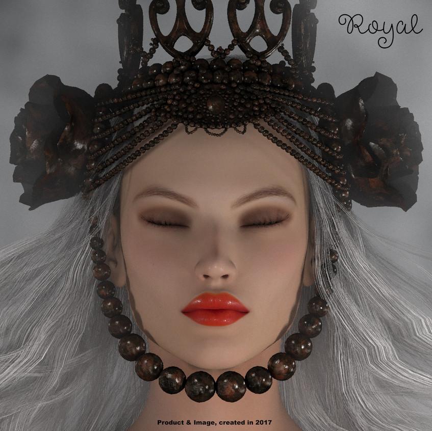 AZOURY - Royal Crown [Metallic Rust]