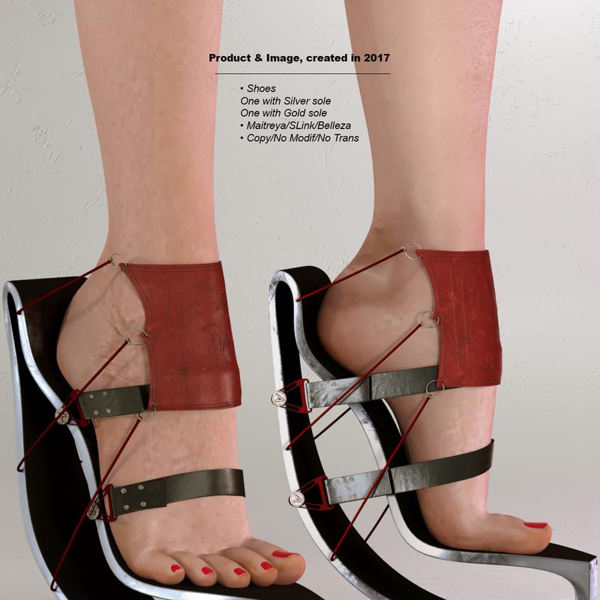 AZOURY - Anael Shoe [Red]