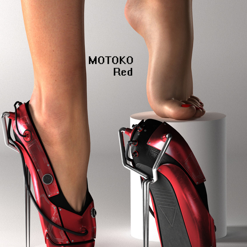 AZOURY - MOTOKO Ballet Shoes [Red]
