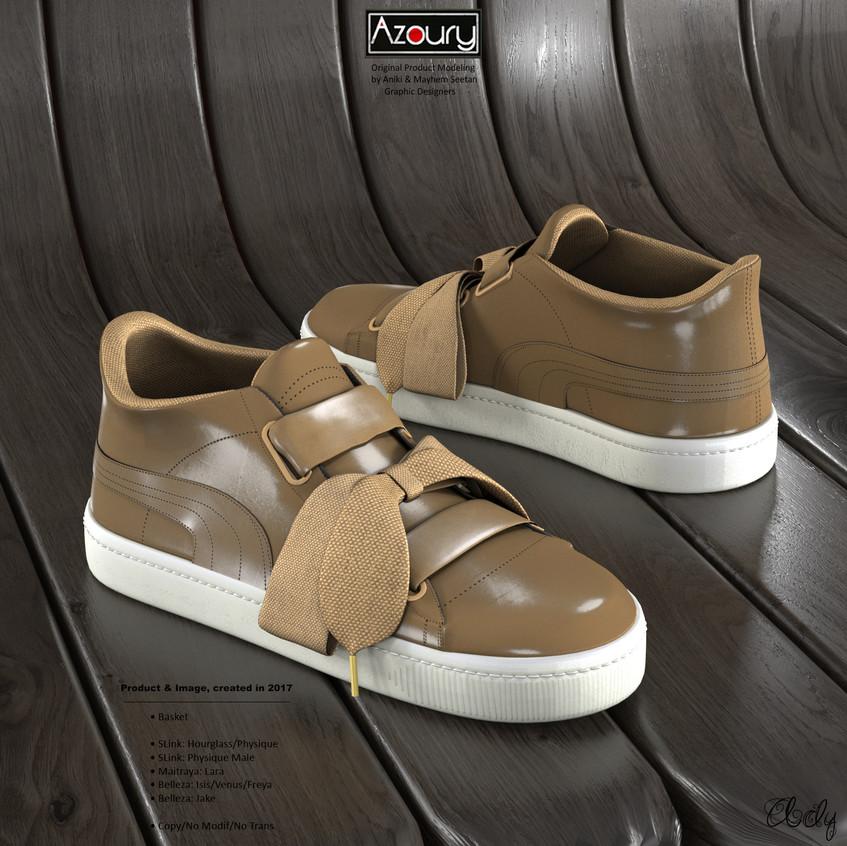AZOURY - Basket Ady [Cream]
