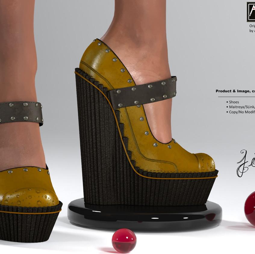 AZOURY - Jim Shoes [Mustard]