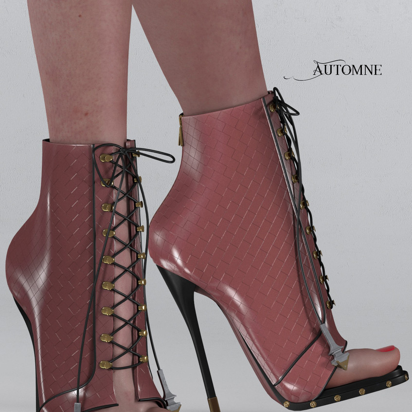 AZOURY - Automne Boot [Pink]