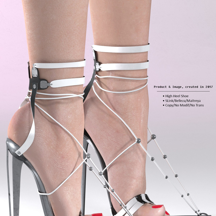 AZOURY - BARUCH High Heel Shoe [White]