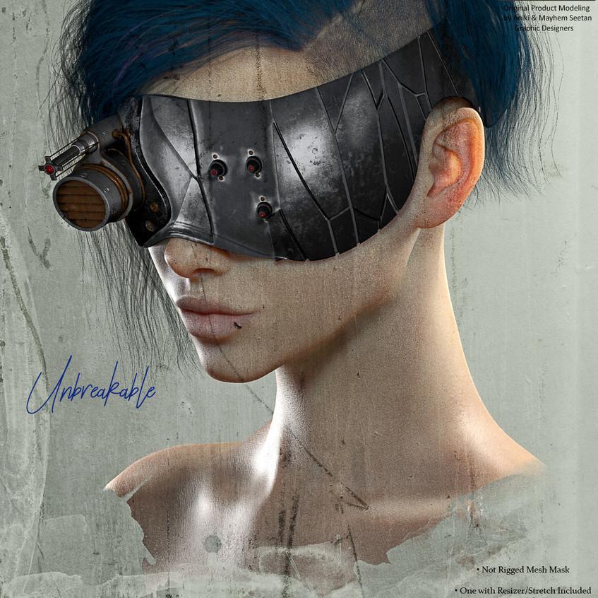 AZOURY - Unbreakable Mask Onyx&Copper