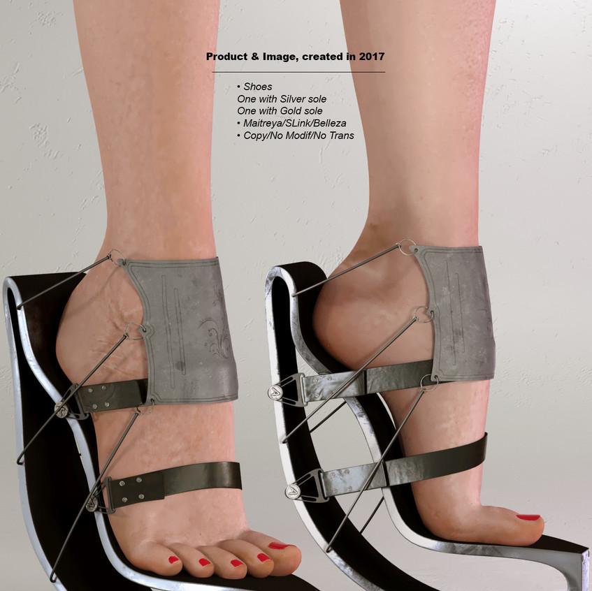 AZOURY - Anael Shoe [Grey]