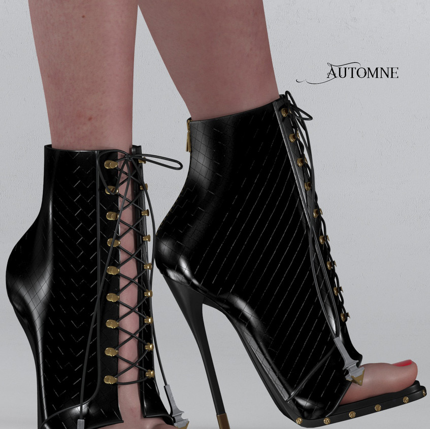 AZOURY - Automne Boot [Onyx]