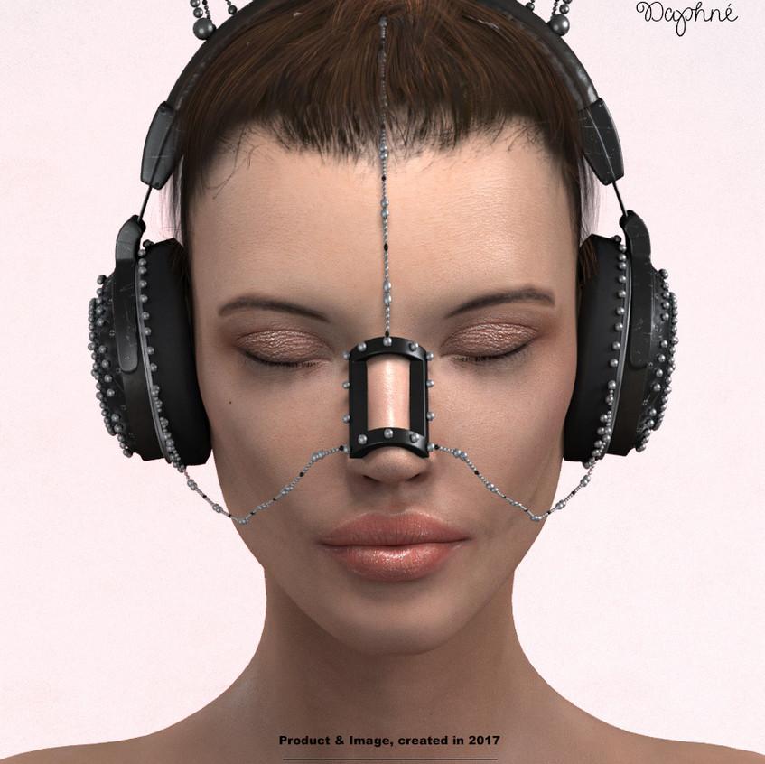 AZOURY - Daphne Headphone [Black]