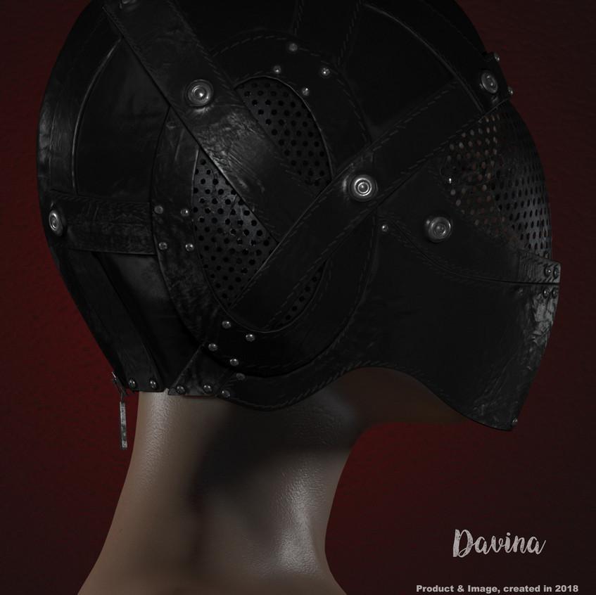 AZOURY - Davina Helmet [Onyx]