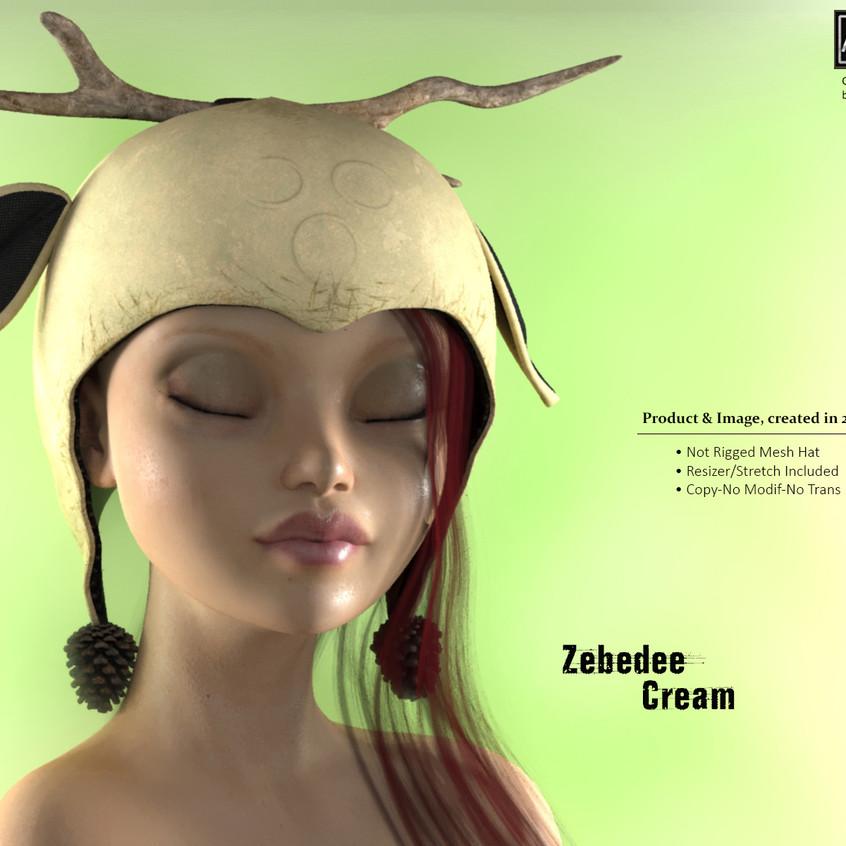 AZOURY - Zebedee Hat [Cream]