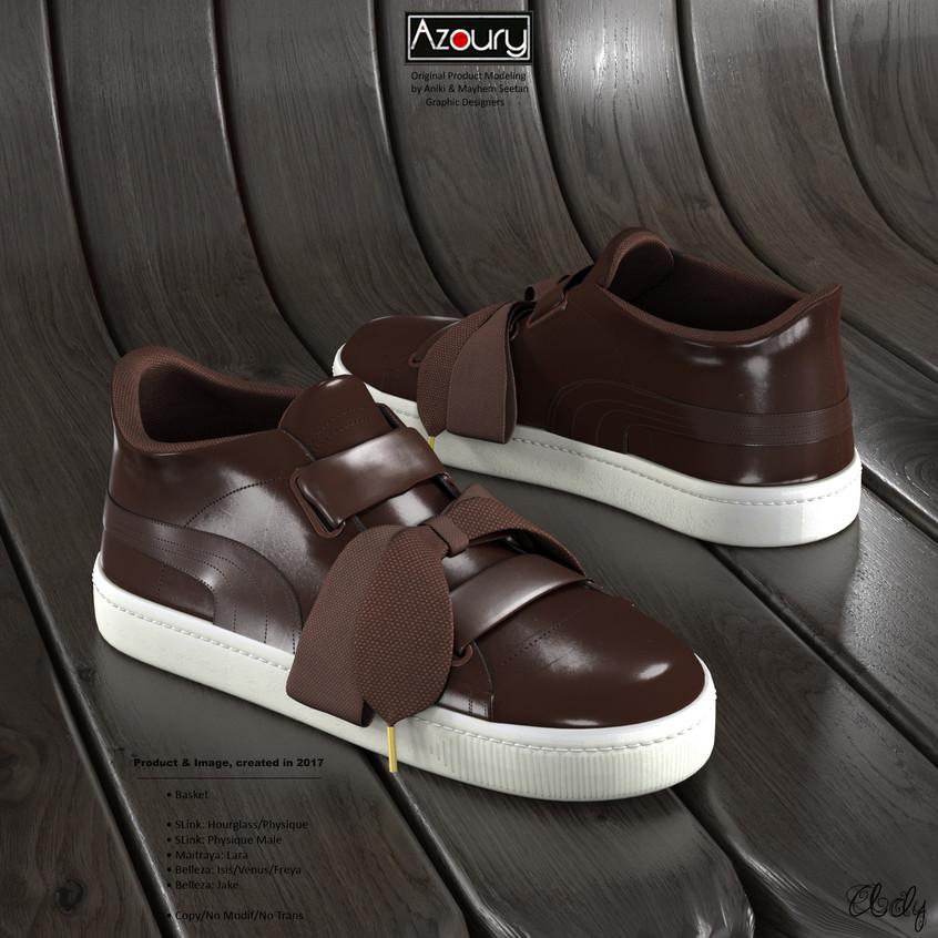 AZOURY - Basket Ady [Brown]