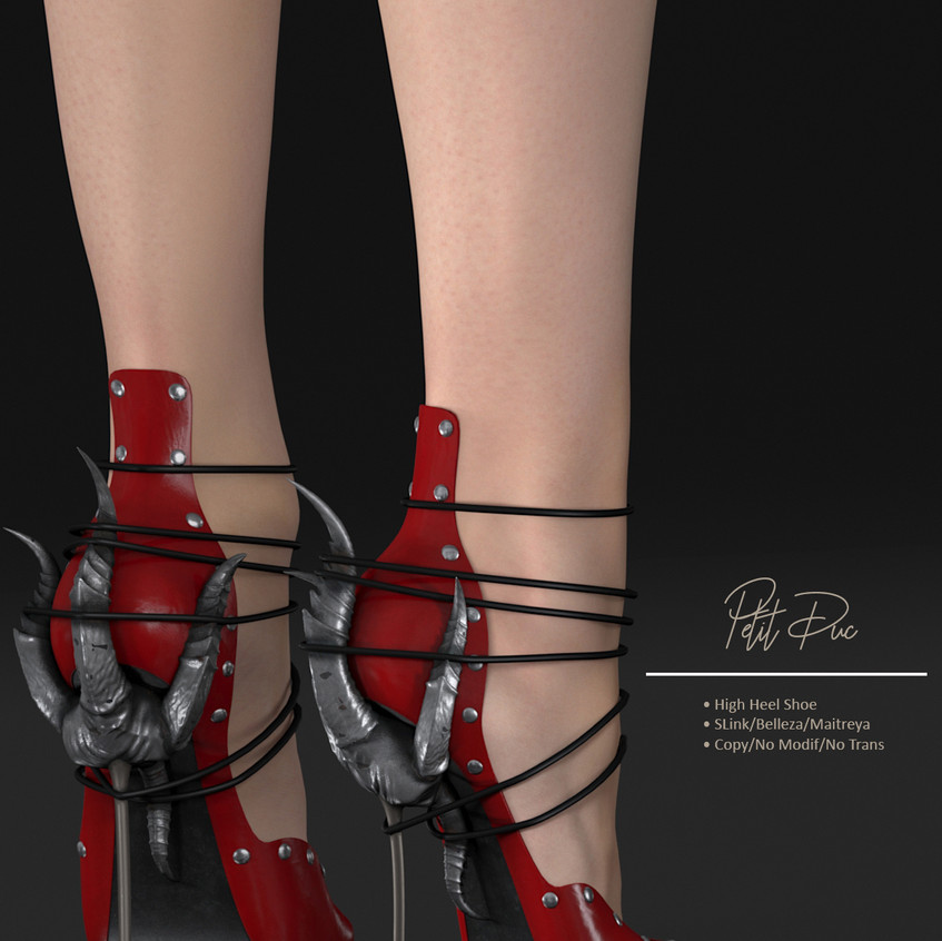 AZOURY - Petit Duc Shoe Red