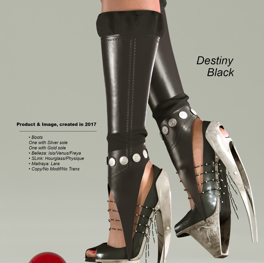 AZOURY - Destiny Boots [Black]