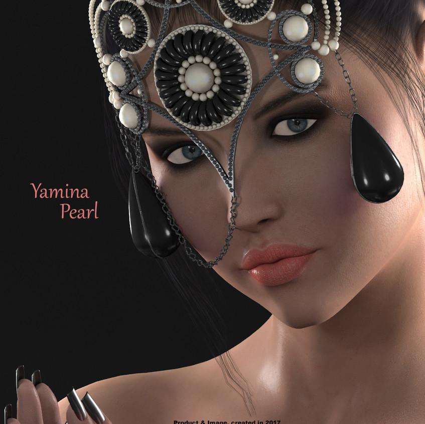 AZOURY - Yamina Mask [Pearl]
