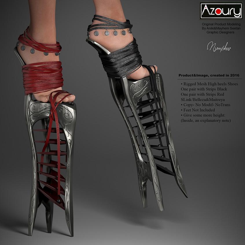 AZOURY  - Nymphas High Heels Shoes [REWARD] 1024