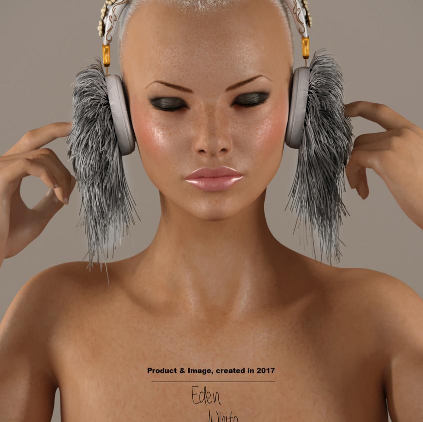 AZOURY - Eden Headphone [White]