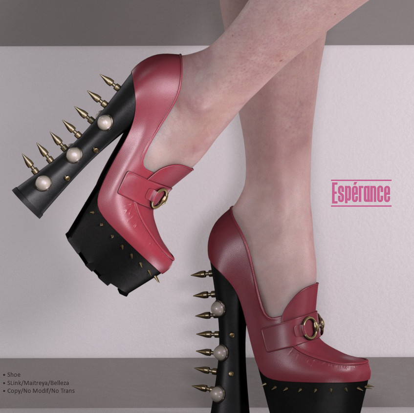 AZOURY - Esperance Shoe {Rose}