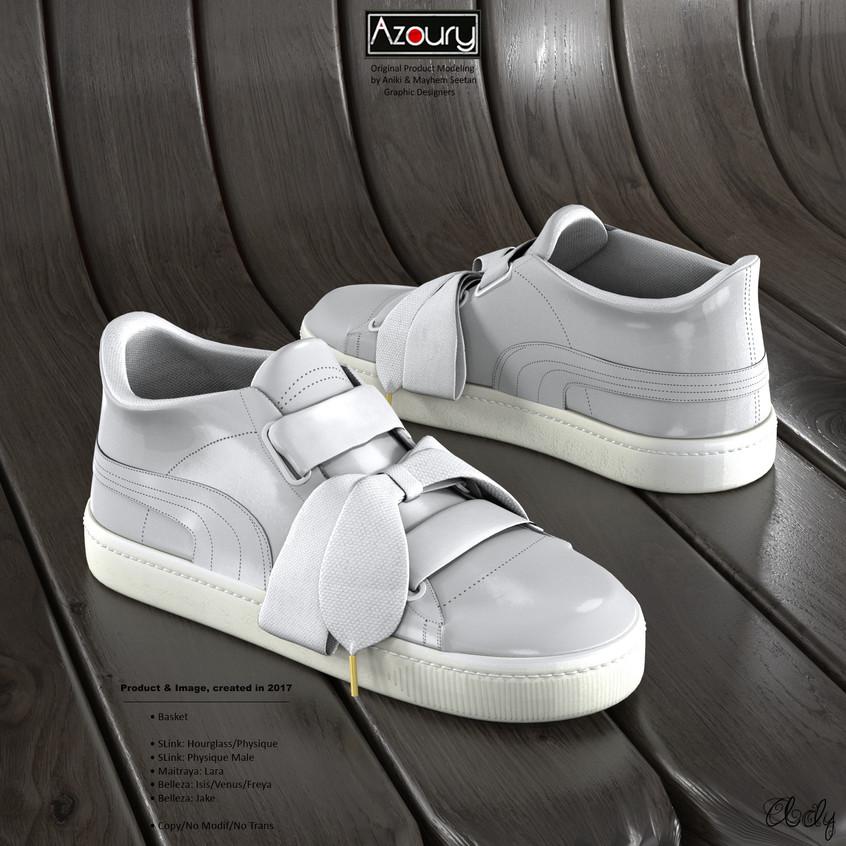 AZOURY - Basket Ady [White]