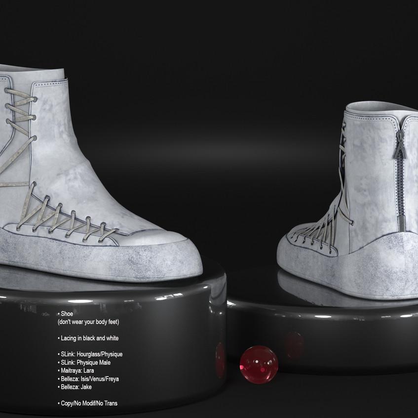 AZOURY - Amedeo shoe White