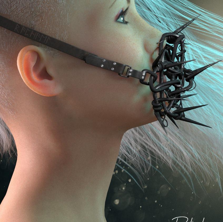 AZOURY - Raphael Accessory [Black Metal]