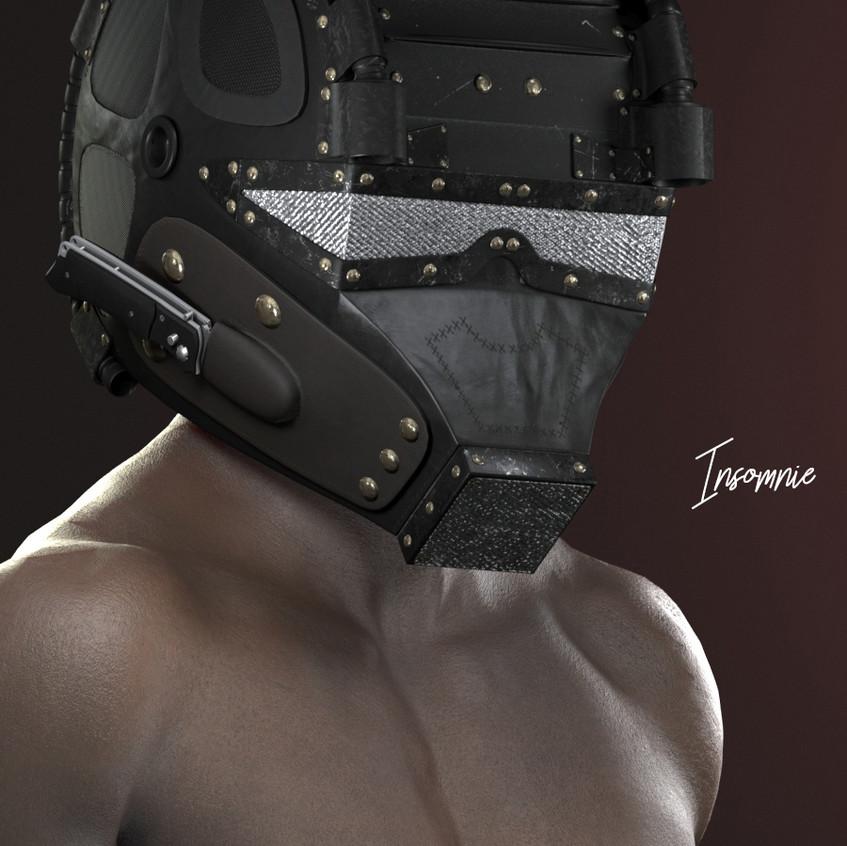 AZOURY - Insomnie Helmet [Onyx]