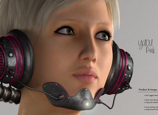 We Love Role Play: Yudu Headphone