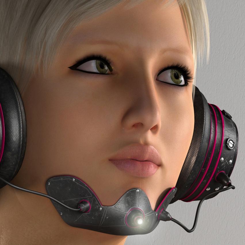 AZOURY - Yudu Headphone [Pink]