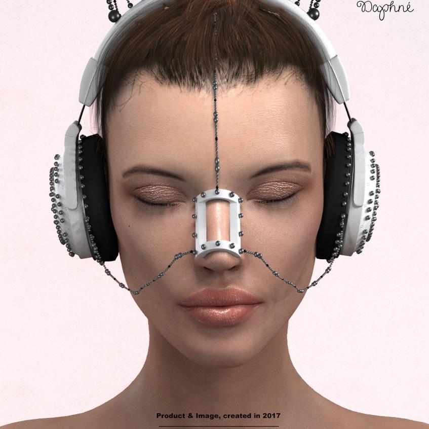 AZOURY - Daphne Headphone [White]