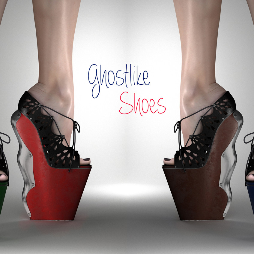 Preview-Ghostlike Shoes