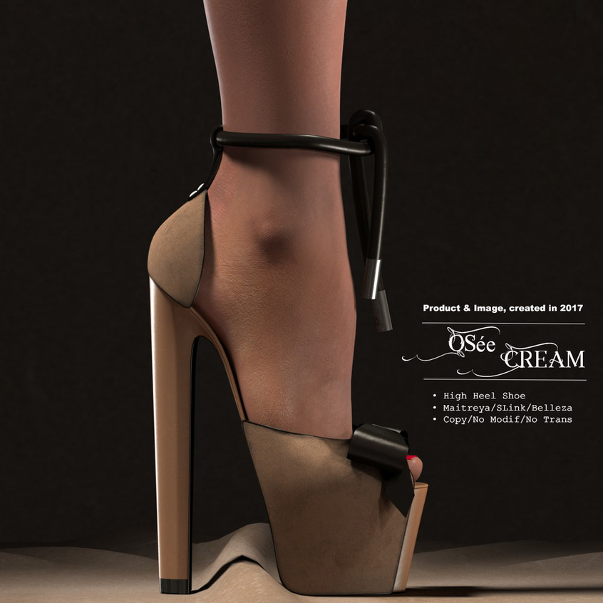 AZOURY_-_Osée_High_Heel_Shoe_[Cream]
