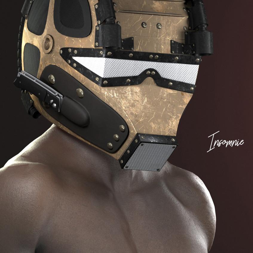 AZOURY - Insomnie Helmet [Bronze]