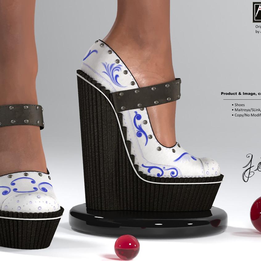 AZOURY - Jim Shoes [Motifs]