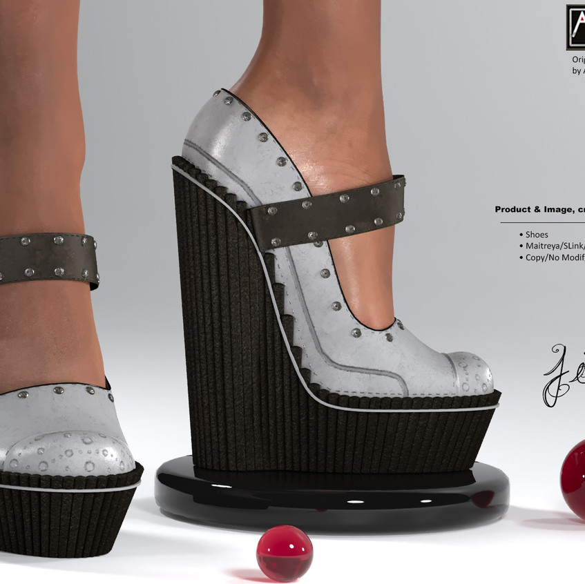 AZOURY - Jim Shoes [Grey]