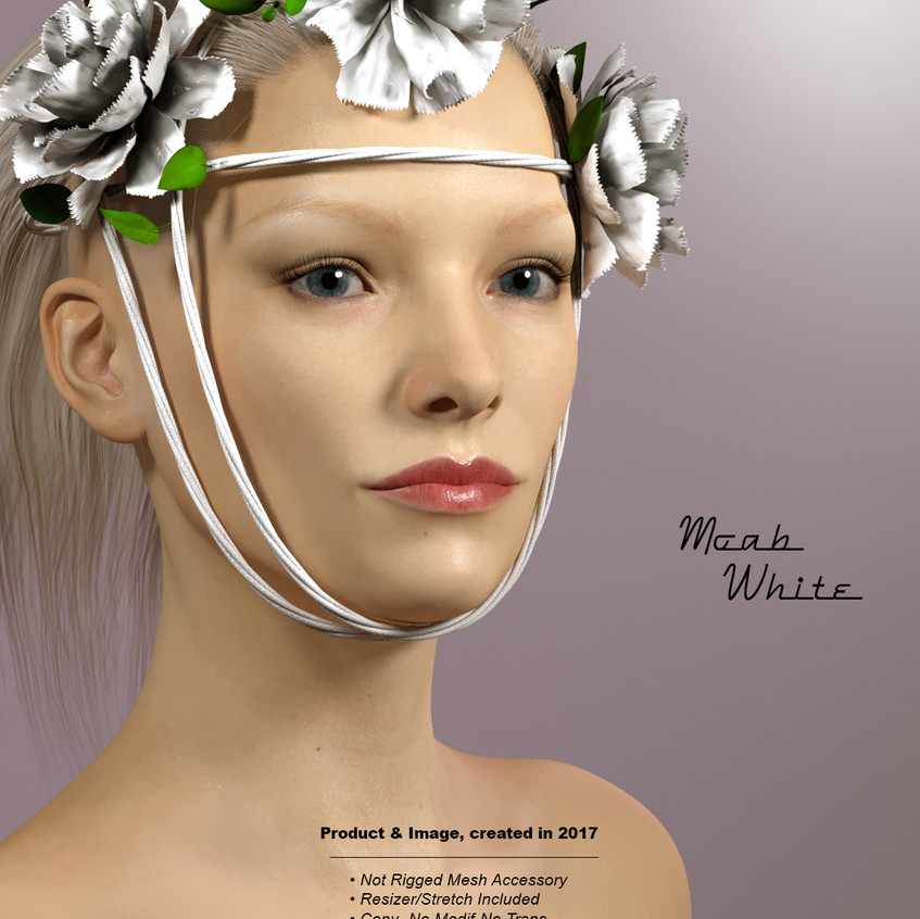 AZOURY - Moab Accessory White