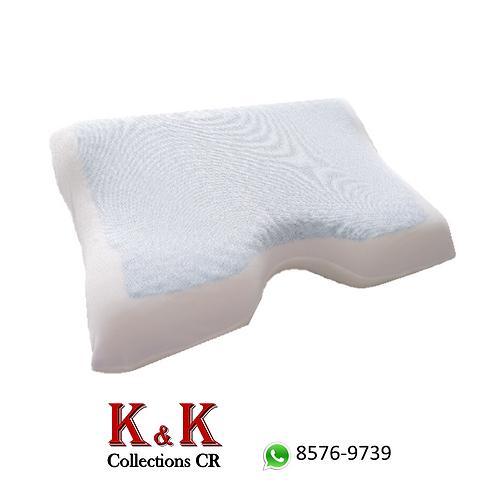 Almohada soporte de cuello con capa de gel
