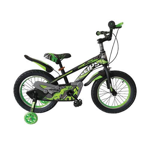 "Bicicleta Niño Verde 16"""