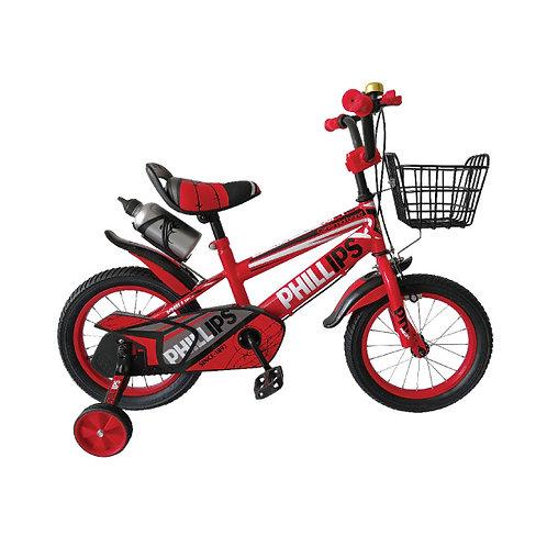 """Bicicleta niño rojo 16"""""""