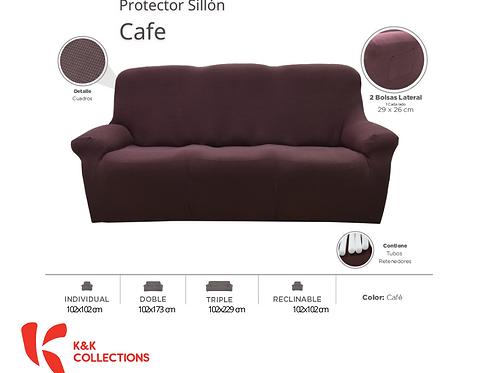 Protector de sillón Cafe
