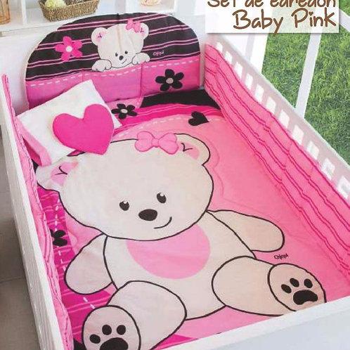 Edredón Cuna Baby Pink