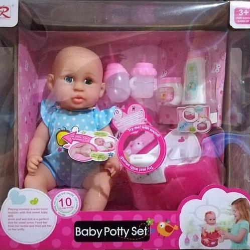 Set bebe pipí