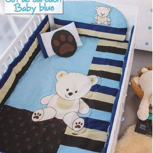 Edredón Cuna Baby Blue