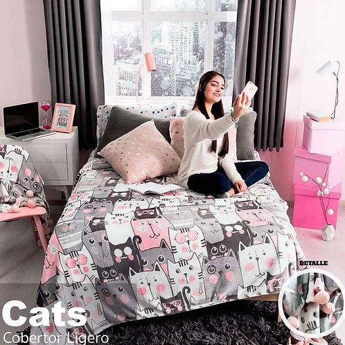 Cobertor ligero Cats