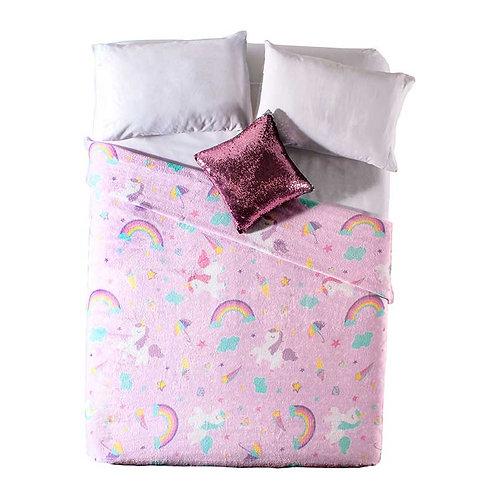 Cobertor Ligero Sweet Unicorn